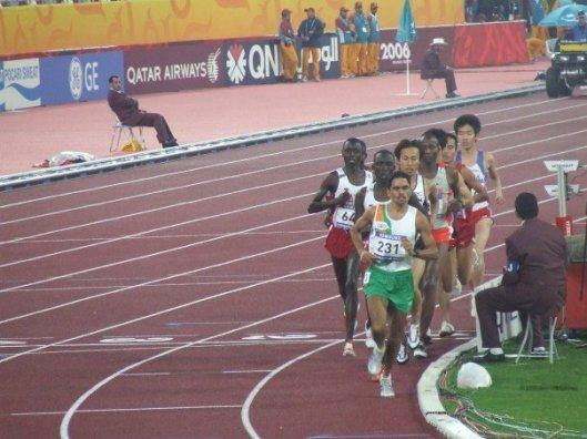 5,000 M race