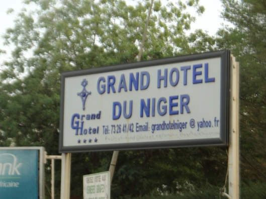 One of the two 5* (questionable) hotels in Niger at the time