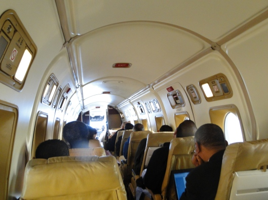 Smallest plane I have been in...Between Niamey and Arlit
