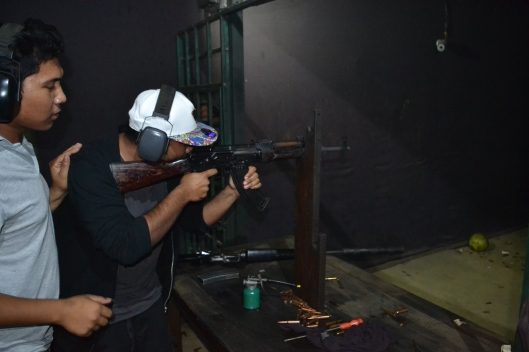 AK-47 at Shooting Range