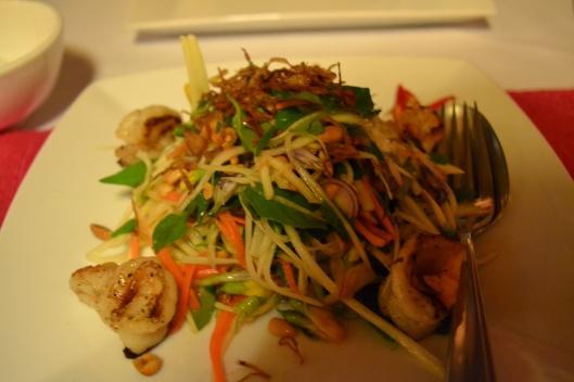 Noodles at Malis