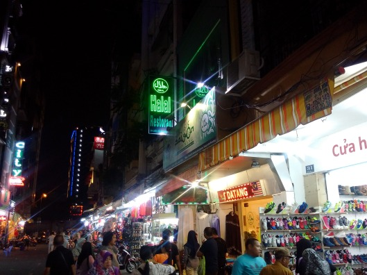 Night Market in Saigon