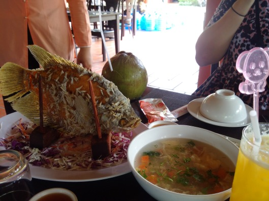 Fried Fish by the Mekong Delta