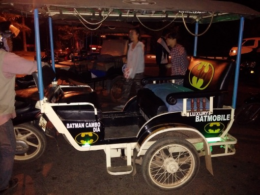 Batmobile...Tuk-Tuk Version