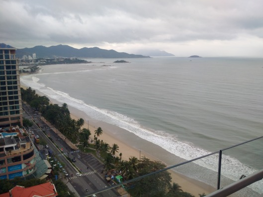 The public beach of Nhn Trang