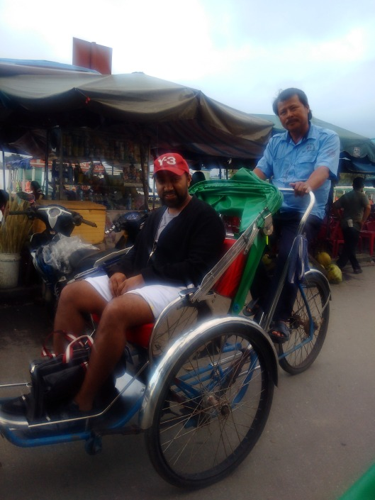 Tour of Hoi An on a Rickshaw