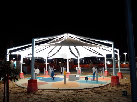 Public Gym at Lusail Stadium