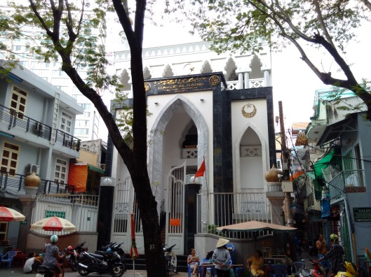 Mosque in downtown Saigon (5 mins drive from Sheraton)