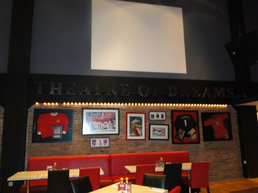 Inside the Man Utd Cafe