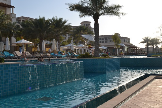 Pool at St Regis, Saadiyat