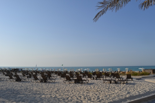 Sea at Saadiyat Beach, St Regis Resort