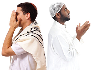 Jews and Muslims praying for a return to older times
