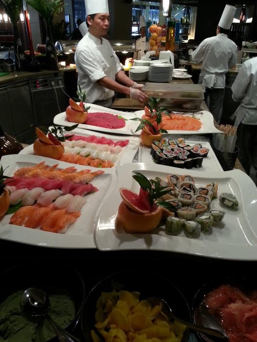 Sushi Selection...