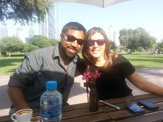 Calming way to end the weekend with Lunch in Al Safa Park with Alice