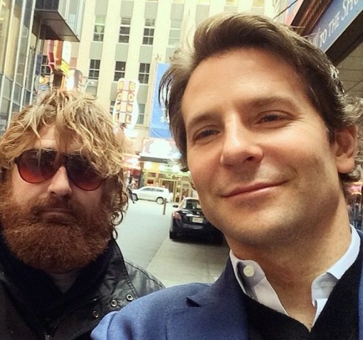 Here's Kalinoski with the real Bradley Cooper