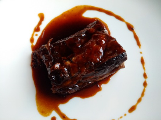 Spiced Caramel Braised Short rib - One of the best ribs I have had, amazing!