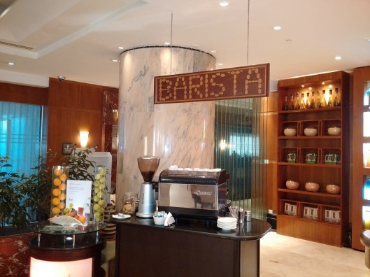 Barista Bar producing average coffee