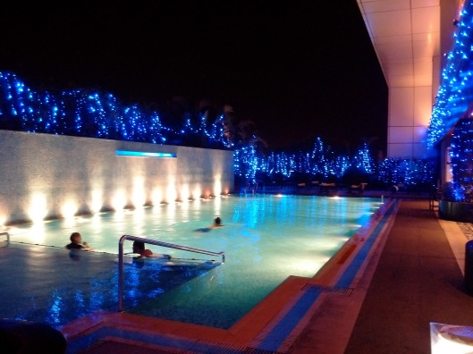 Swimming Pool on the 5th Floor